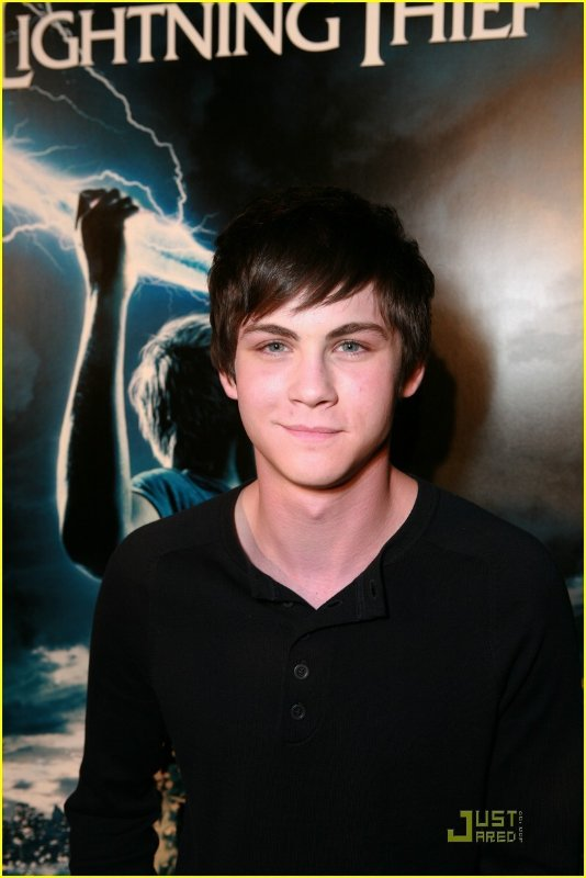 LOGAN LERMAN It was the first time that I really had to do a lot