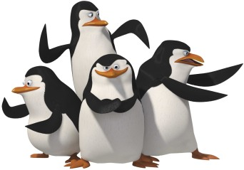 animated penguins