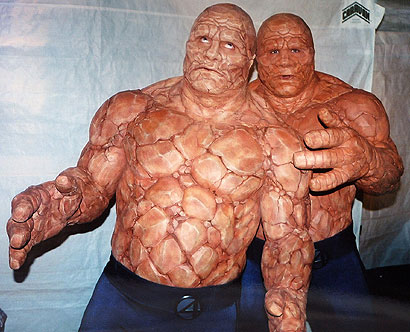 Michael Chiklis Thing Michael Chiklis The Thing Makeup