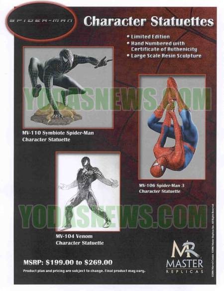 spiderman 3 venom toys. of our hero Spider-Man and